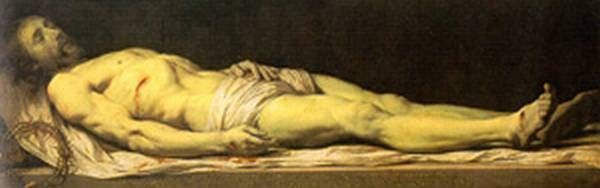 the dead christ xx musee du louvre paris